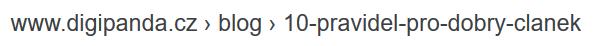 jak upravit URL adresu